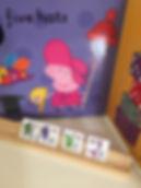 Phonics books using favorite characters eg Peppa Pig !