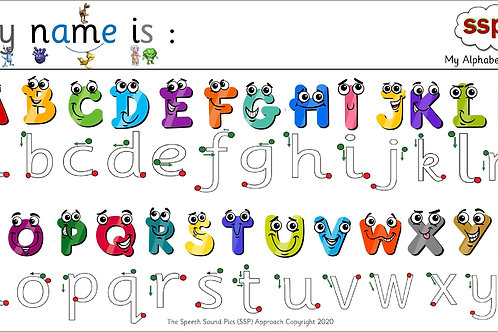 Digital - Exploring lower and upper case letters