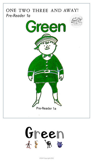 Pre-reader 1A - Green - 1,2,3 and Away!