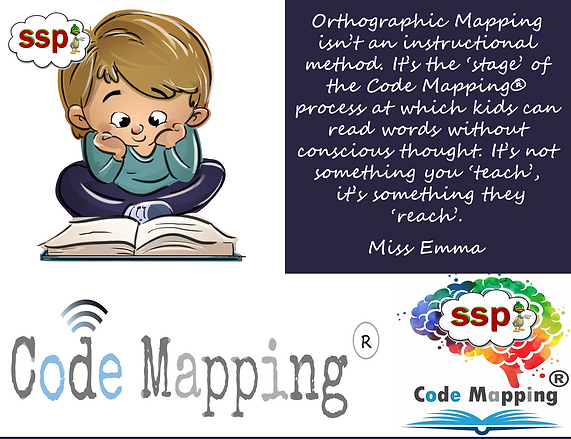 Orthographic Mapping - Speech Sound Pics (SSP) Approach