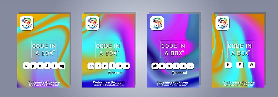 Code in a Box ! Spelling Code in a Box, Phonics Code in a Box!