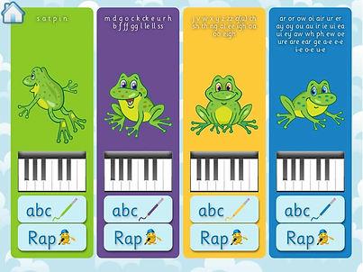 SSP Spelling Piano app