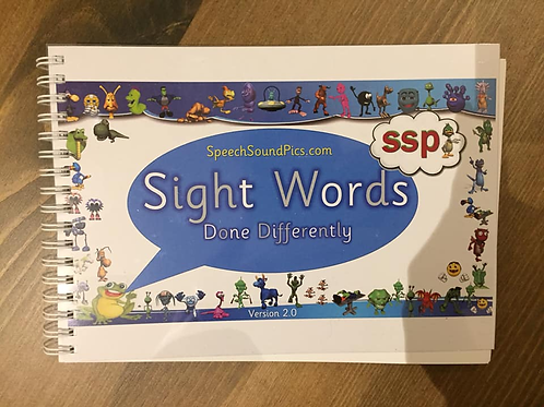 Sight Words Done Differently- Code Mapped High Frequency Words