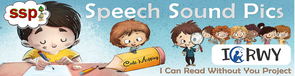 The Speech Sound Pics (SSP) Approach for Schools- I Can Read Without You (ICRWY)