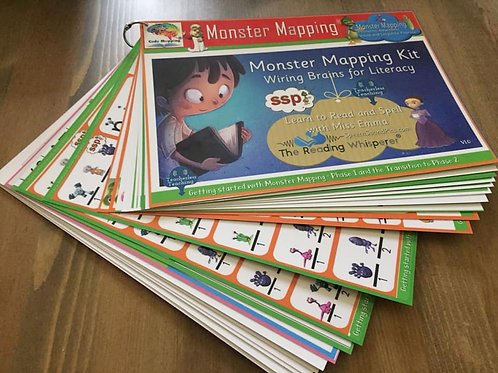 Monster Mapping (Orange Level) Handbook - Photocopiable Resources