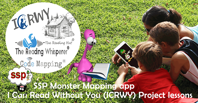 I Can Read without You (ICRWY) app- teach phonics online, step by step