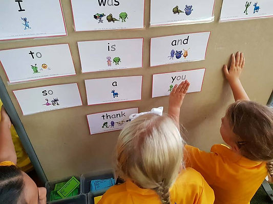 Monster Mapping high frequency words. SSP