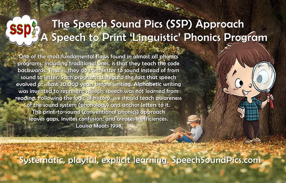 Speech Sound Pics Approach SSP SoR