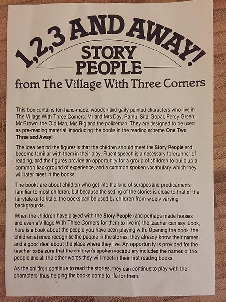 1 2 3 and Away! The Village with Three Corners