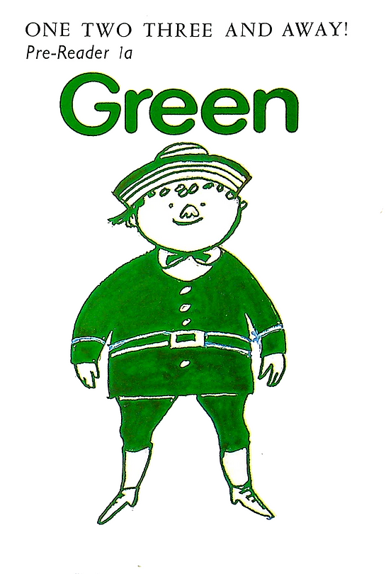 One, Two, Three ad Away! Green