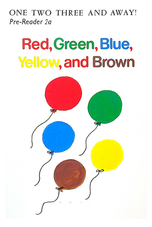 Pre-Reader 2a - Red, Green, Blue, Yellow, and Brown