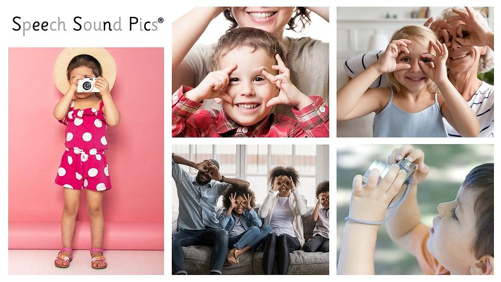 Speech Sound Pics - Pictures of Speech Sounds