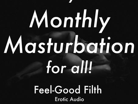 Jan '21 Monthly Masturbation [M4A] [INTENSE ORGASM AHEAD]