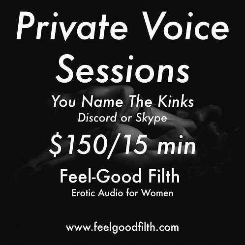 15 Minute Voice Session