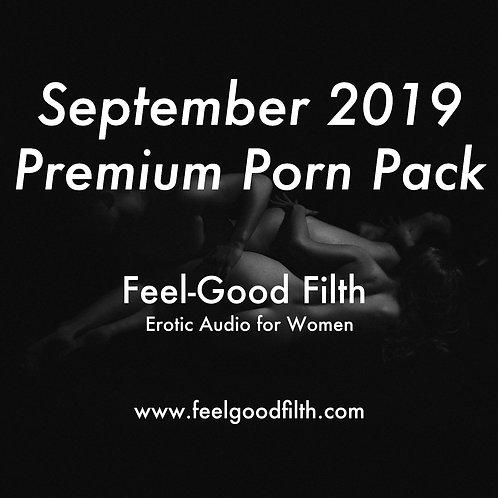 Premium Porn Pack: September 2019