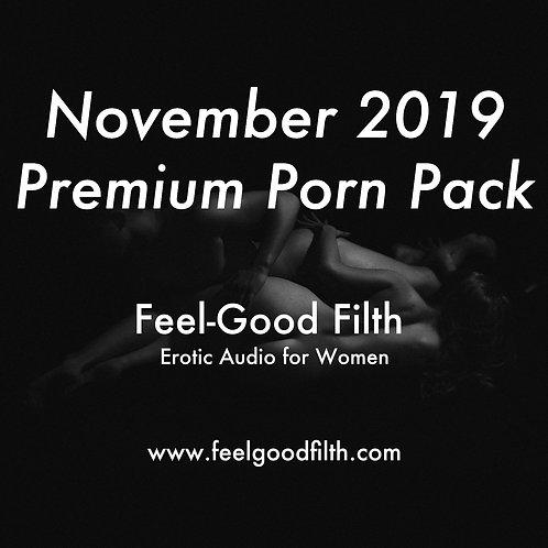 Premium Porn Pack: November 2019