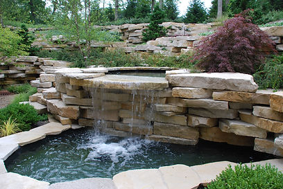 Weatheredge Outcropping Water Feature.JP