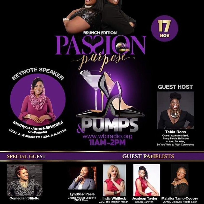 Passion, Purpose and Pumps