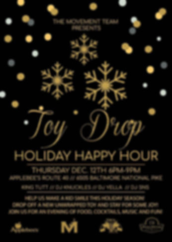 Toy Drop Holiday Happy Hour