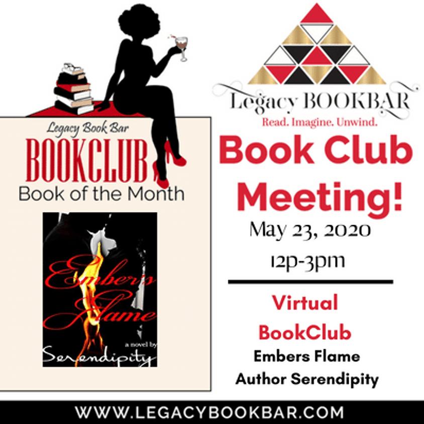 Legacy BookBar May Virtual Book Club Meeting