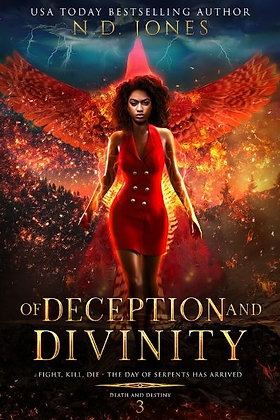 Of Deception and Divinity: Death and Destiny Trilogy (Book 3)