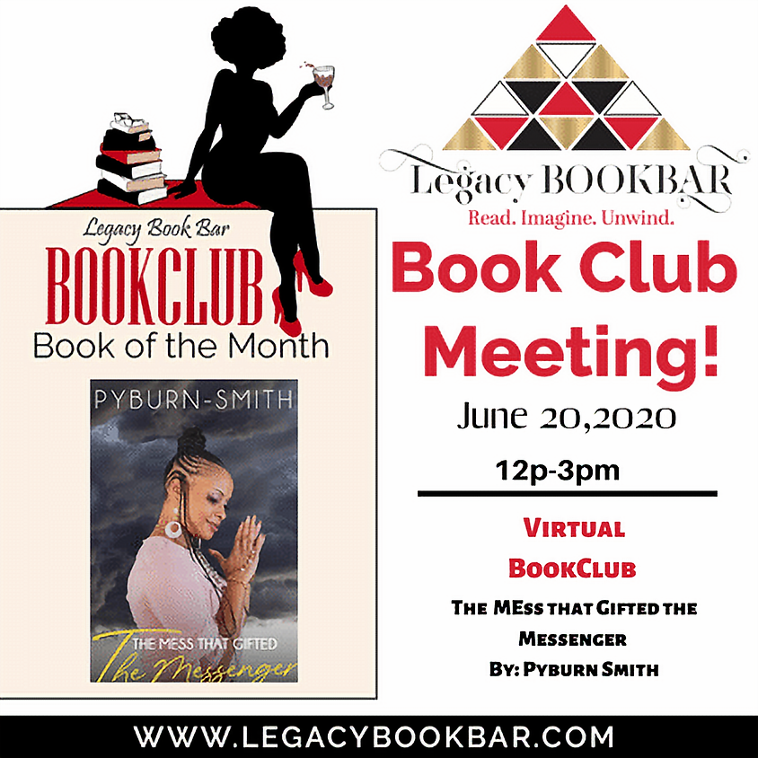 Legacy BookBar June Virtual Book Club Meeting