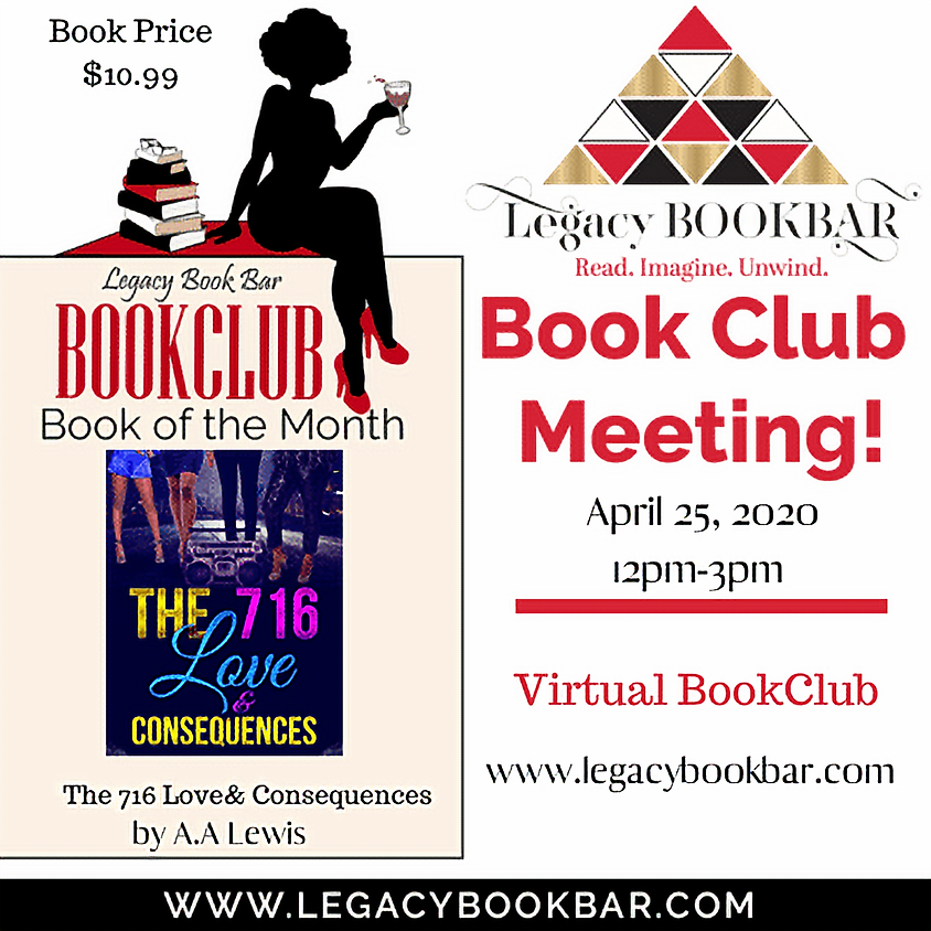 Legacy BookBar April Virtual Book Club Meeting