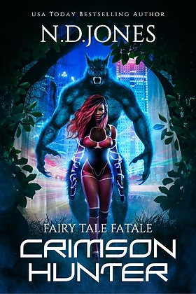 Crimson Hunter: A Red Riding Hood Reimagining (Fairy Tale Fatale)