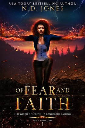 Of Fear and Faith: A Witch and Shapeshifter Romance (Book 1)