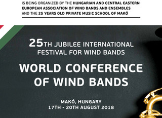 The 25th Jubilee International Festival for Wind Bands in Makó, Hungary - photo gallery
