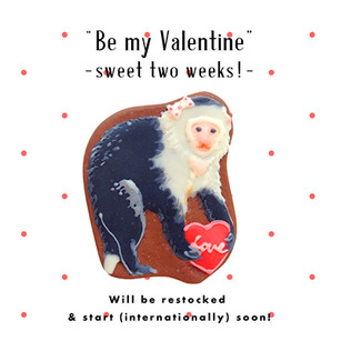 Valentine shopping of fragola web shop!