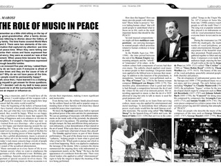 My article in the Orchestra magazine