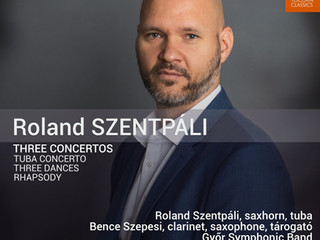 Review in the latest Fanfare Magazine about my contribution in the Szentpáli album