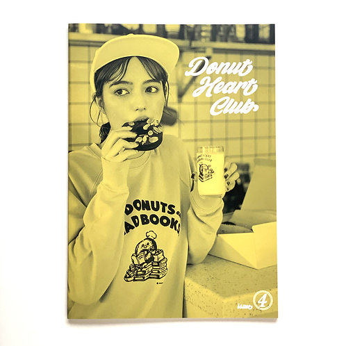 "ZINE ""Donut Heart Club""  - Issue.4"