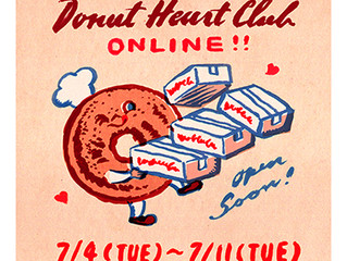 """Donut Heart Club"" online!"