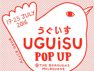 """Uguisu POP UP"" in Melborne"