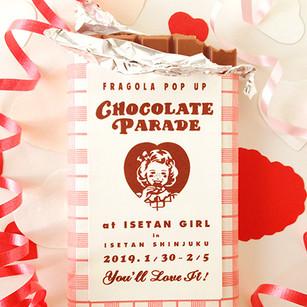 """""""Chocolate Parade"""" in Isetan Shinjuku"""
