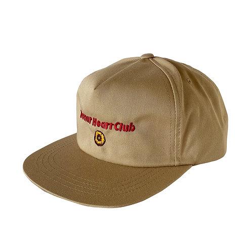 Donut Heart Club Cap  (KHAKI)