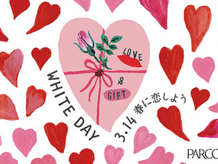 White day marche in PARCO Hiroshima!