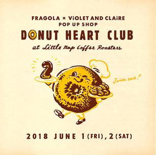 Donut Heart Club returns!