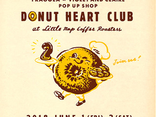 Donut Heart Club returns!