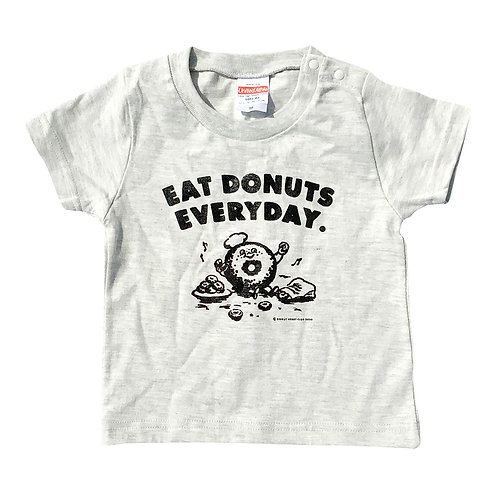 EAT DONUTS EVERYDAY KIDS T-SHIRTS