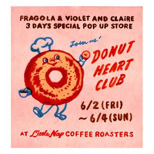 Donut Heart Club!