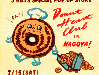 """Donut Heart Club"" in Nagoya!"