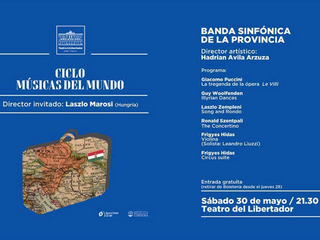 Conducting a Hungarian Concert in Argentina (Audio)