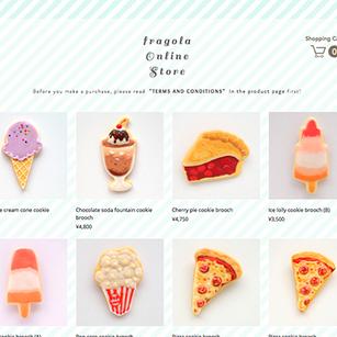 fragola international web shop started!