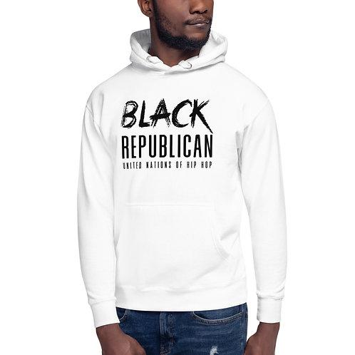 Black Republican Unisex Hoodie