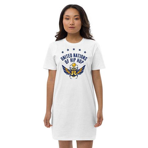 Egyptian / Sumerian Beetle Organic cotton t-shirt dress