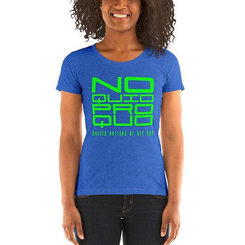 Ladies' Quid Pro Quo Short Sleeve T-Shirt