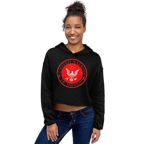UN of Hip Hop Women's Cropped Hoodie